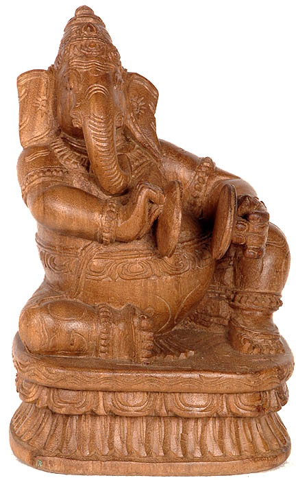 Ganesha Playing Cymbals