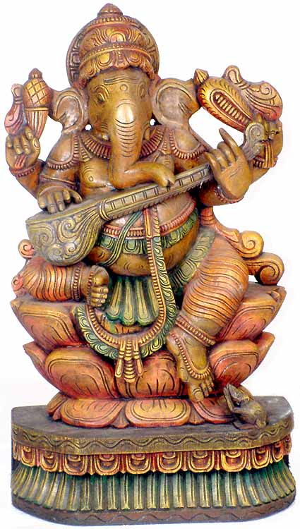 Ganesha Plays the Sitar