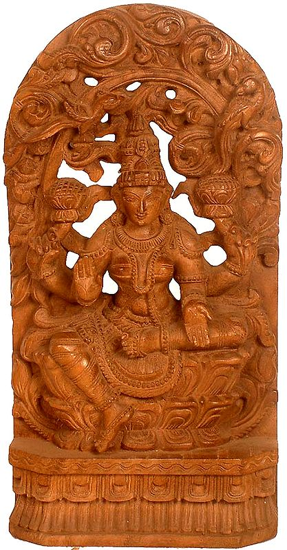 Goddess Lakshmi Seated in Lalitasana