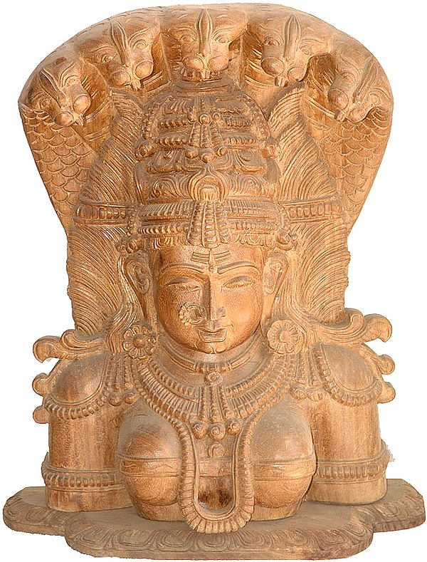 The Bust Image of Devi: A Wood Carving