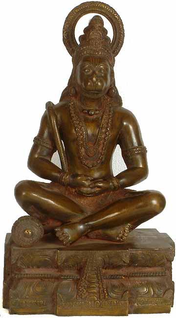 Hanuman as Yogachara