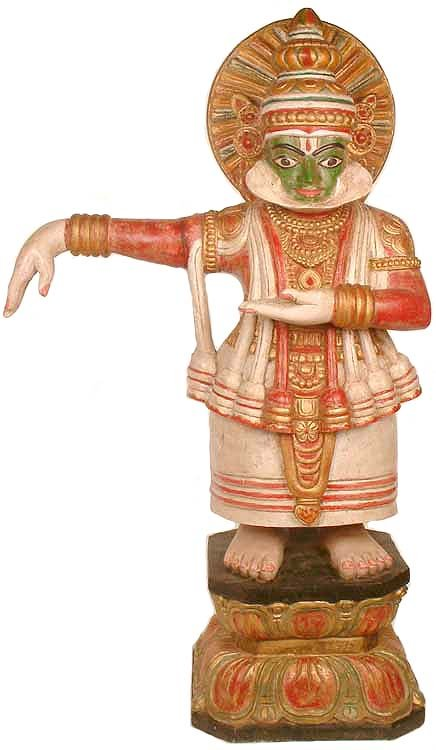 Large Size  The Kathakali Dancer