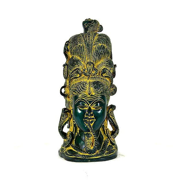 Mukhalingam (Parvati, Shiva and Naga Kanya)
