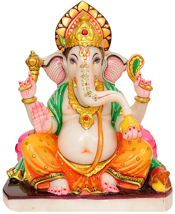 The Affectionate Ganesha