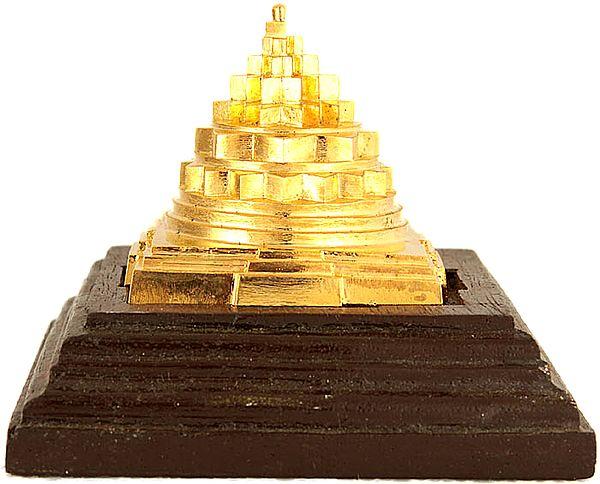 An Accurate Super Bronze Shri Yantra Made in Kerala