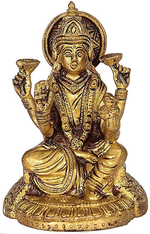 Goddess Lakshmi with Wealth Pot