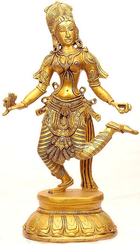 Apsara Removing Thorn