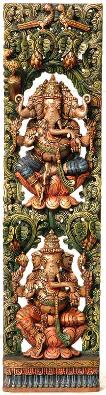 Shri Ganesha Temple Panel
