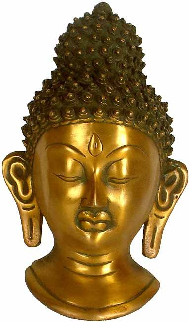 The Buddha Head (Wall Hanging Mask)
