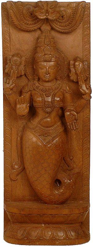 The Ten Incarnations of Vishnu (Matsya Avatara)