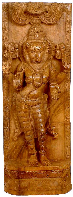 The Ten Incarnations of Vishnu (Narasimha Avatara)