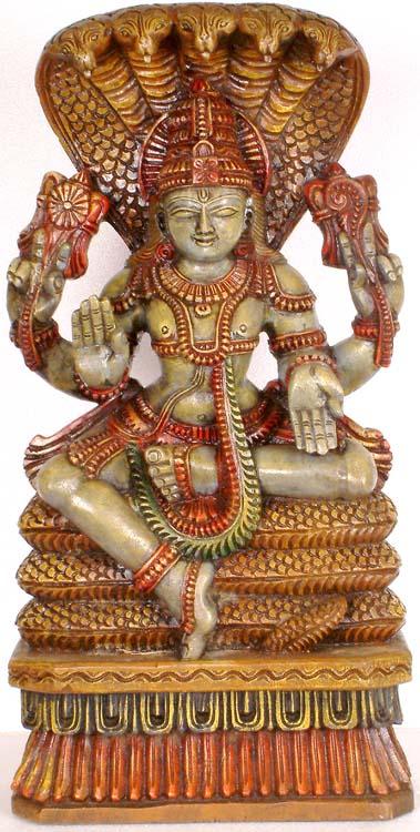 Vishnu on Sheshnag