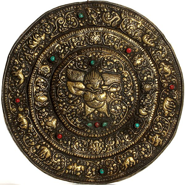 Wall Hanging Plate with Garuda