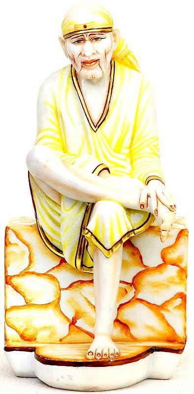 Marble Sculpture of Shirdi Sai Baba