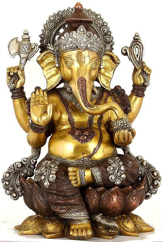 Chaturbhuja Ganesha Anugraha-Murti