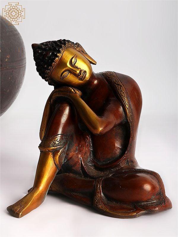 Japanese Thinking Buddha