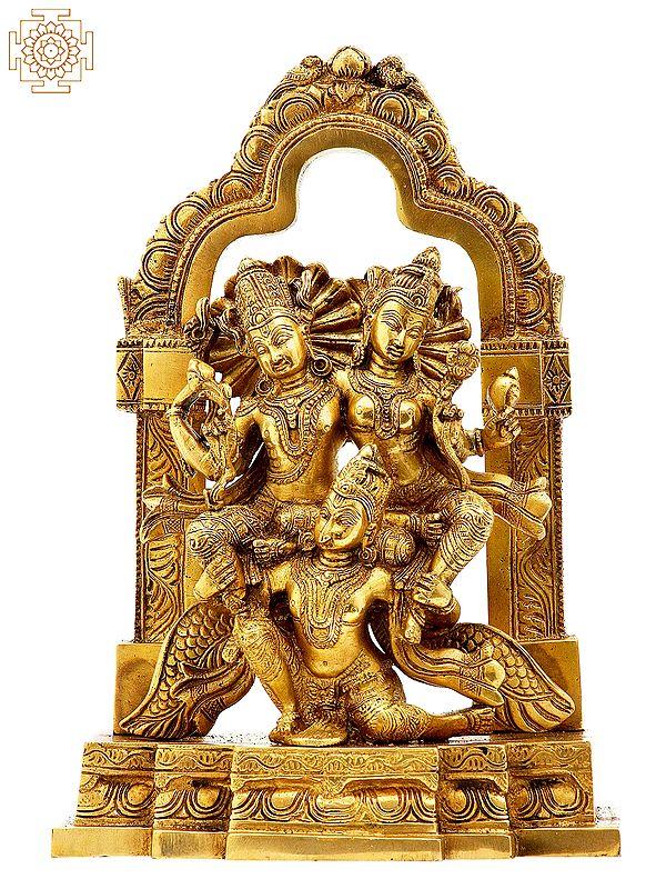 Lakshmi-Narayana on Garuda
