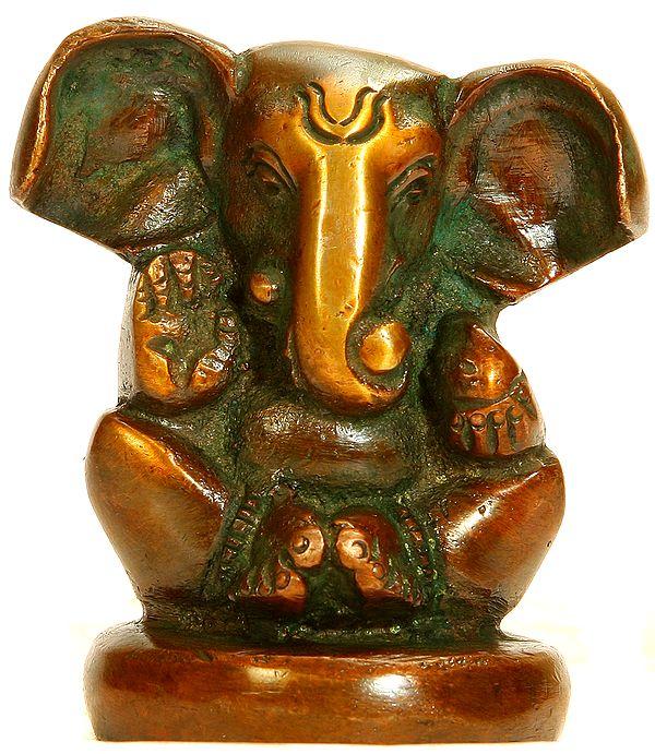 Baby Ganesha (Small Statue)