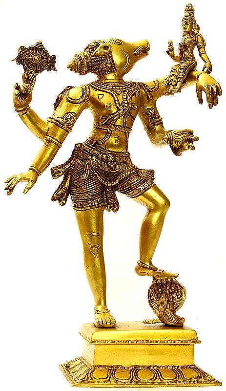 Varahavatara: Vishnu's Boar Incarnation and Bhudevi