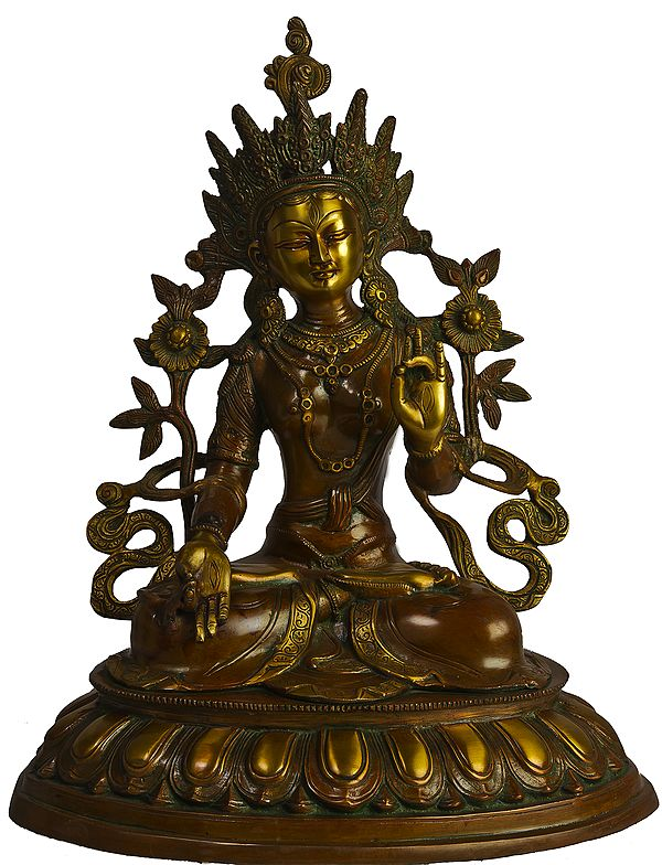 Tibetan Buddhist Goddess White Tara - Who Bestows Long Life on Her Devotees