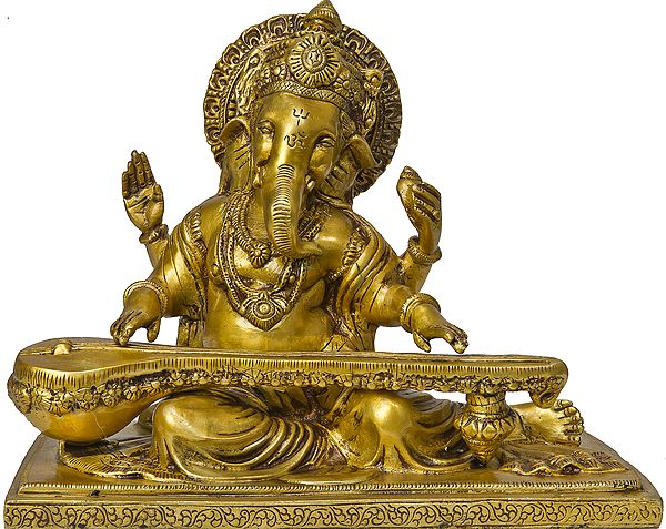 Vina-vadaka Ganapati