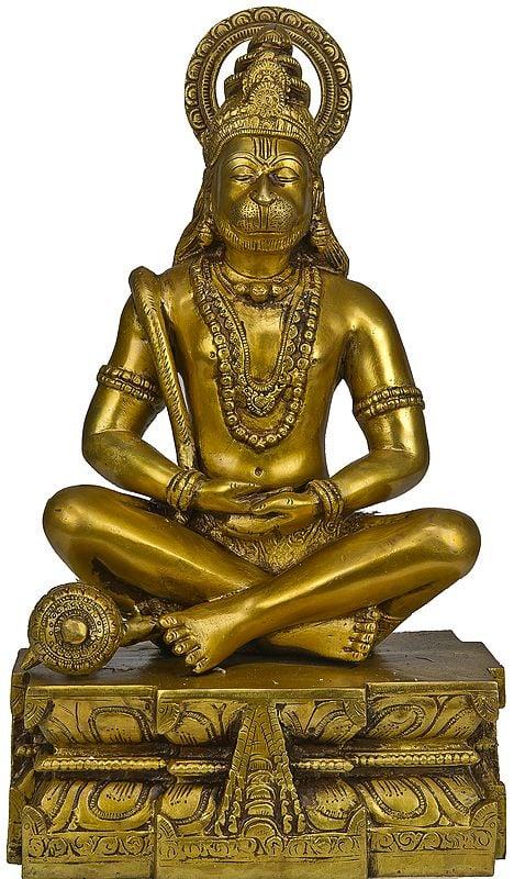 Lord Hanuman as Yogachara