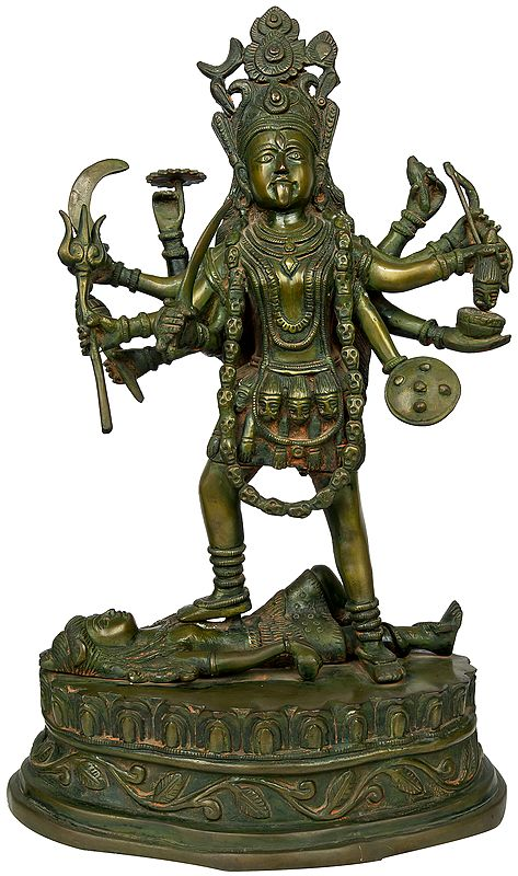 Goddess Kali in Her Manifestation as Bhadrakali