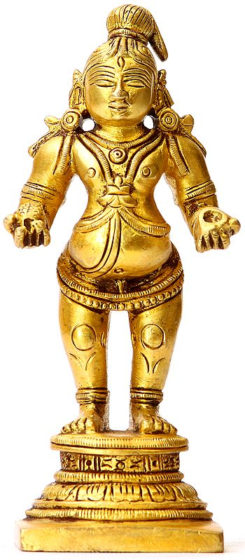 Laddoo Gopala (Small Sculpture)