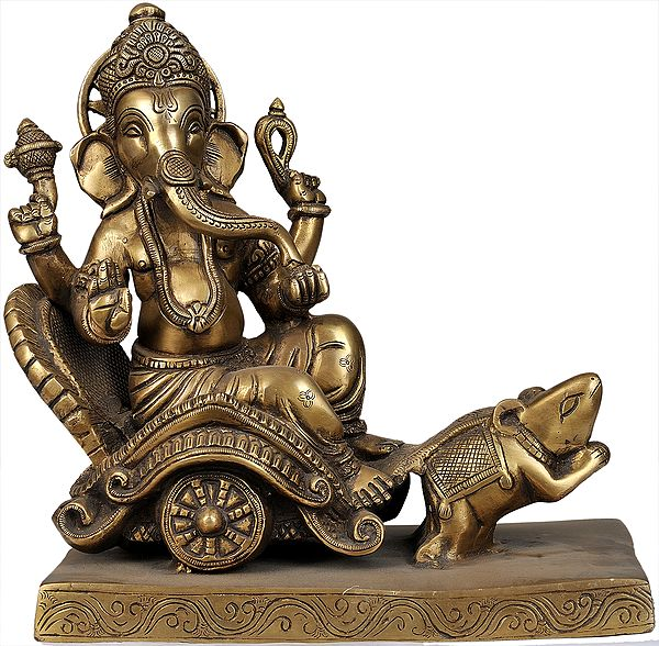 Ganapati Heading to His Village Beyond the Yonder Hill