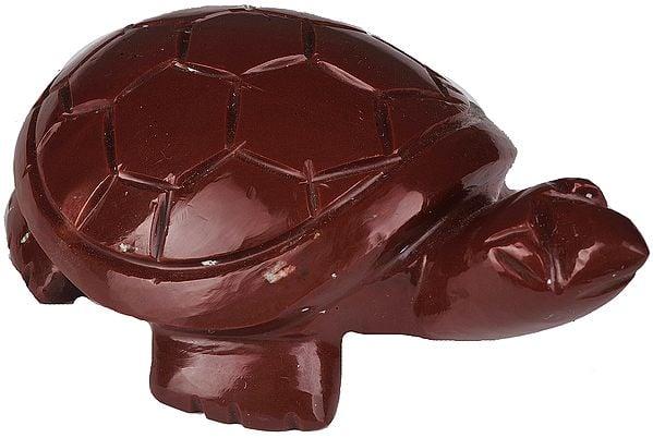 Feng Shui Tortoise (Carved in Jasper)