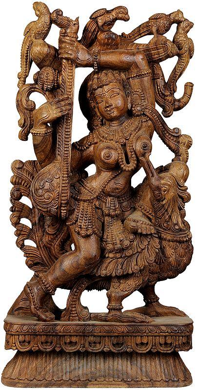 Large Size Love-longing Apsara