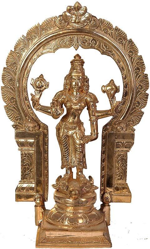 Vishnu-Durgai (Goddess Durga as the Sister of Lord Vishnu)