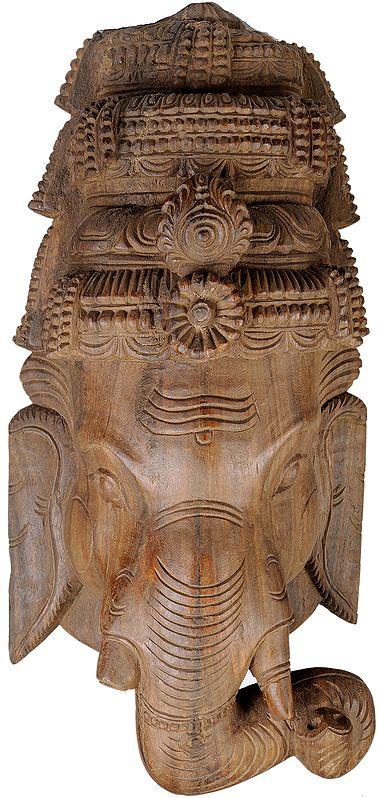 Lord Ganesha Wall Hanging Large Mask