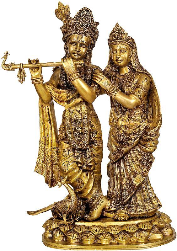 Large Size Radha-Krishna