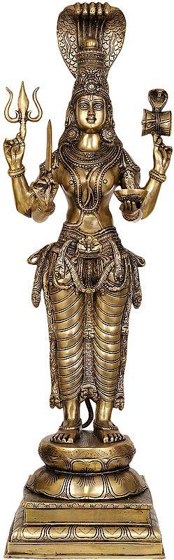 Large Size Goddess Parvati as Durga