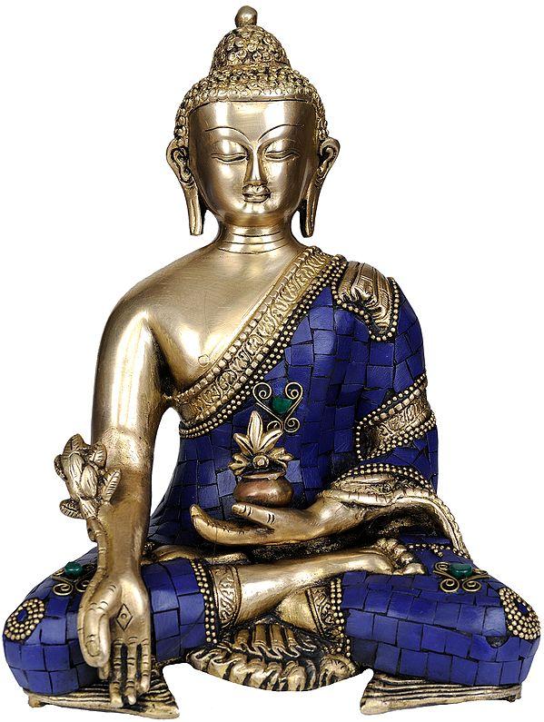 Tibetan Buddhist Deity Lapis Buddha of Healing