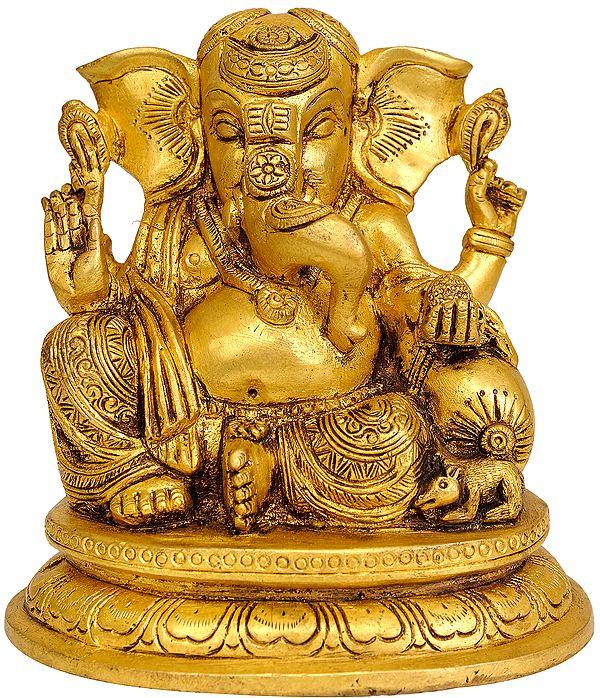 Seated Ganesha