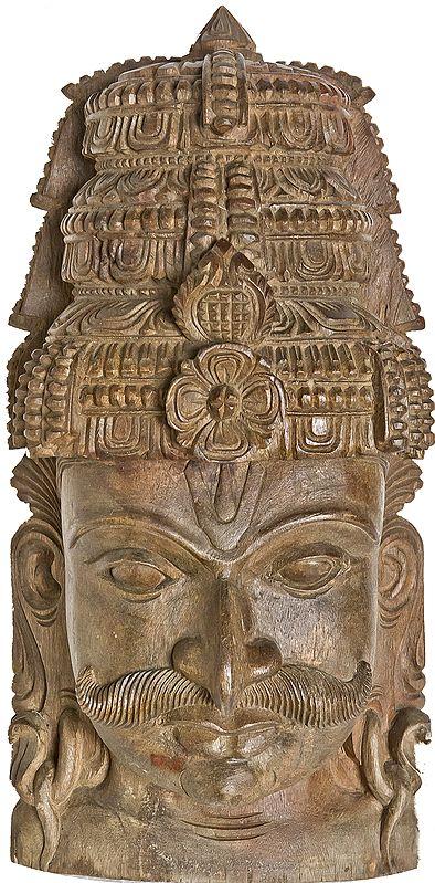 Wall Hanging Mask of Arjuna