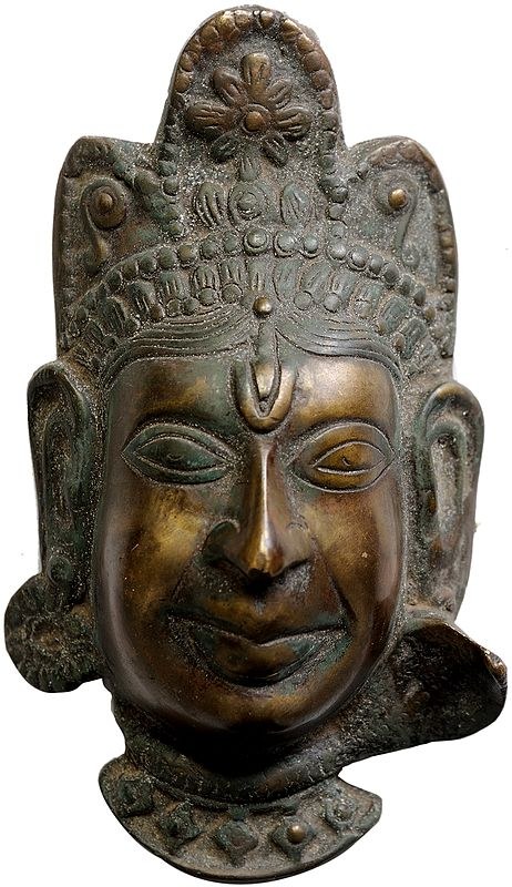 Devi Mask From Himachal Pradesh