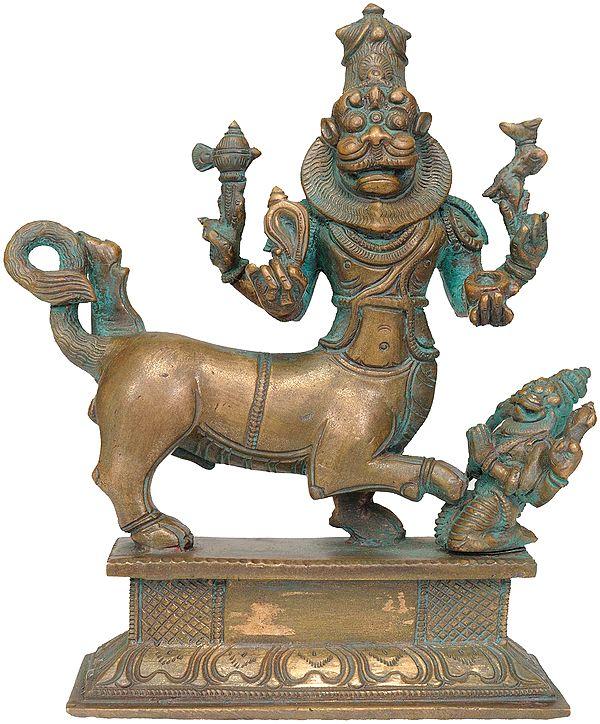Sharabha: An Incarnation of Virabhadra