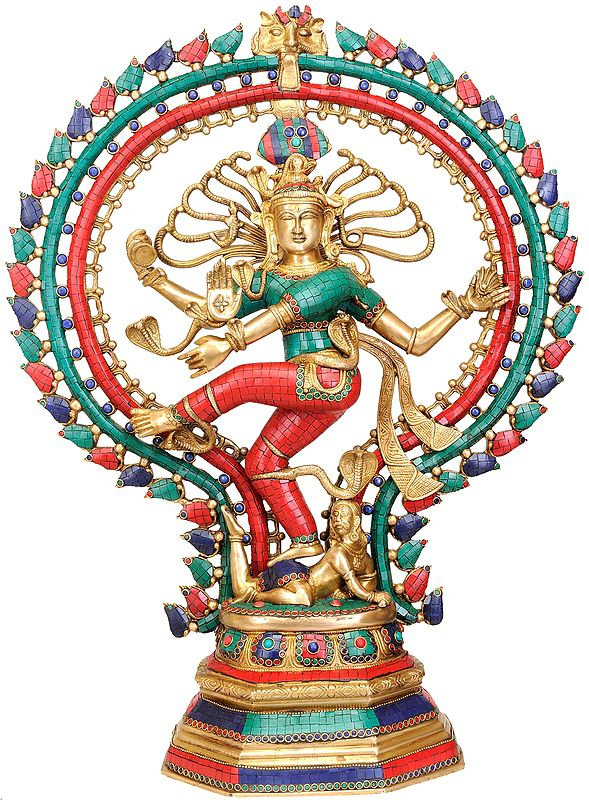 Large Size Nataraja (Inlay Statue)