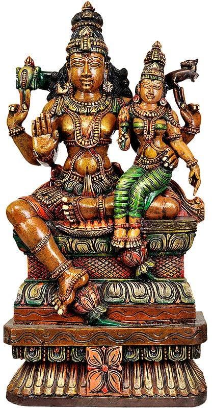 Large Size Shiva Parvati