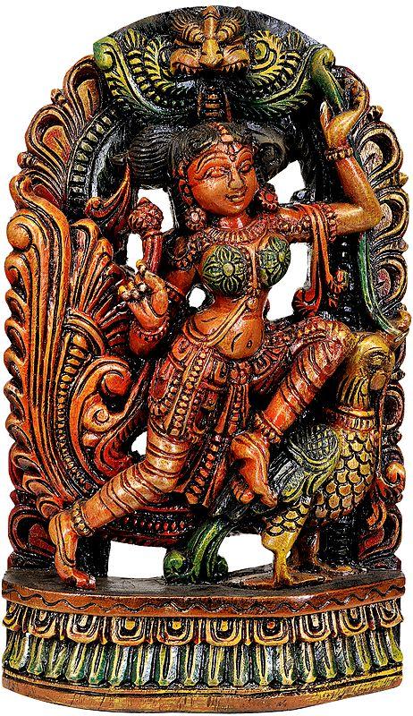 Love-longing Apsara