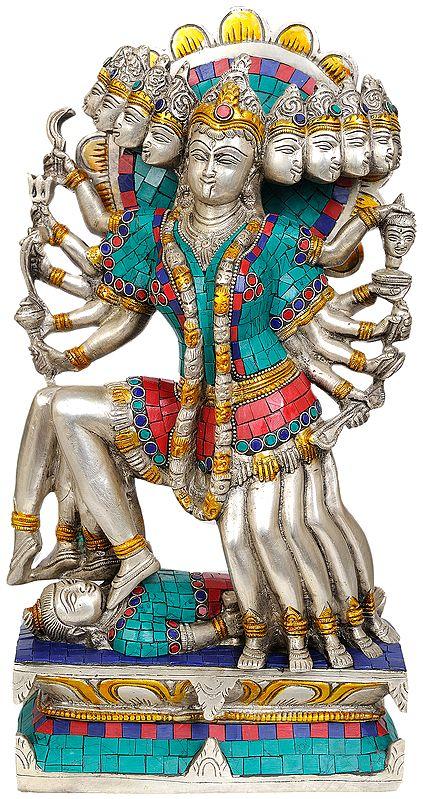 Ten-Faced Goddess Mahakali