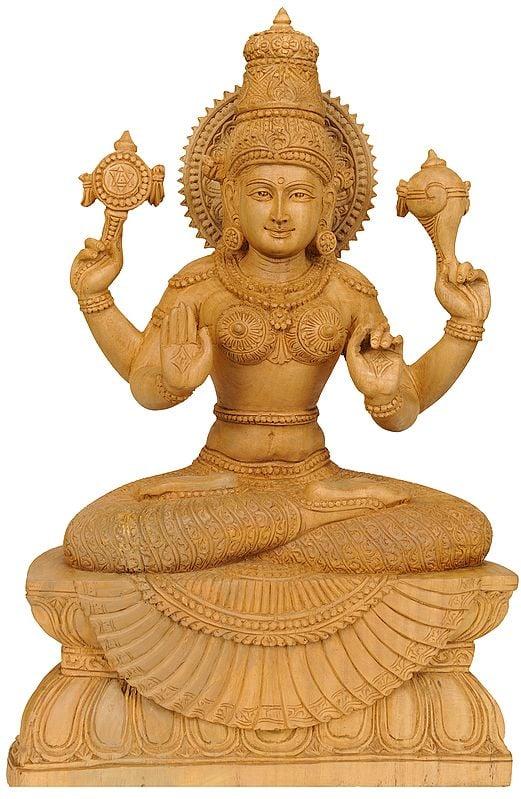 Four-Armed Lakshmi, The Goddess of Abundance