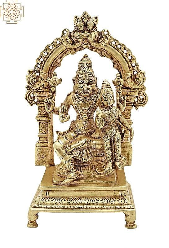 Lord Narasimha with His Shakti