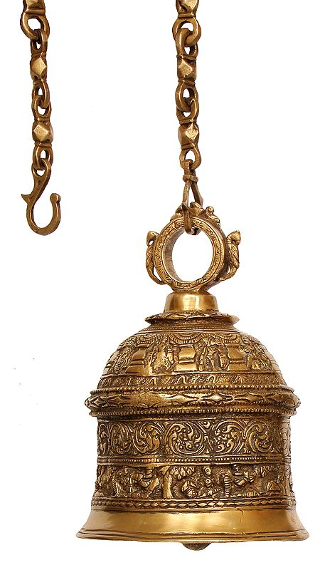 Dashavatar Temple Hanging Bell