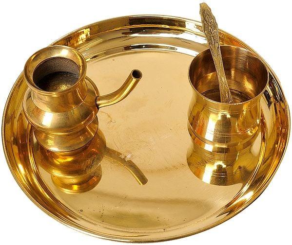 Thali for Sandhya Vandanam