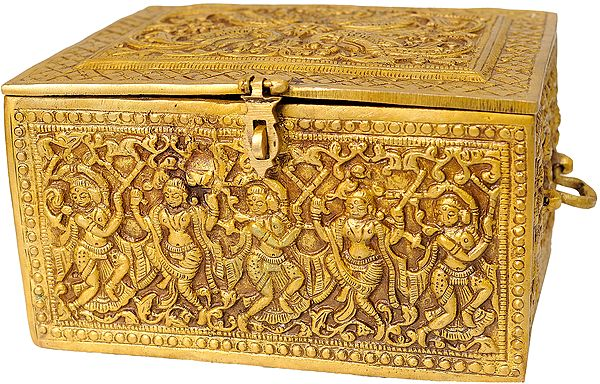Finely Carved Ritual Box