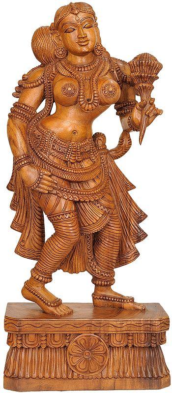 Large Size Apsara